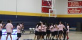 The Texas Wesleyan Women's basketball team lineup for the 2016-2017 season is introduced at Midnight Madness. Photo by Hannah Onder