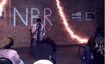Sylvester Rodriguez performs at Naked But Real on Oct. 5. Photo by Hannah Onder
