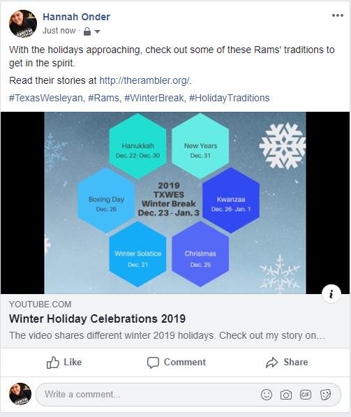 F3 Facebook Post